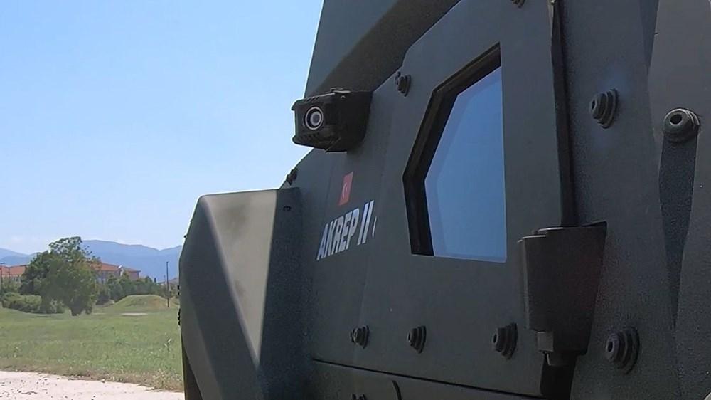 Dijital birliğin robot askeri Barkan göreve hazırlanıyor (Türkiye'nin yeni nesil yerli silahları) - 127