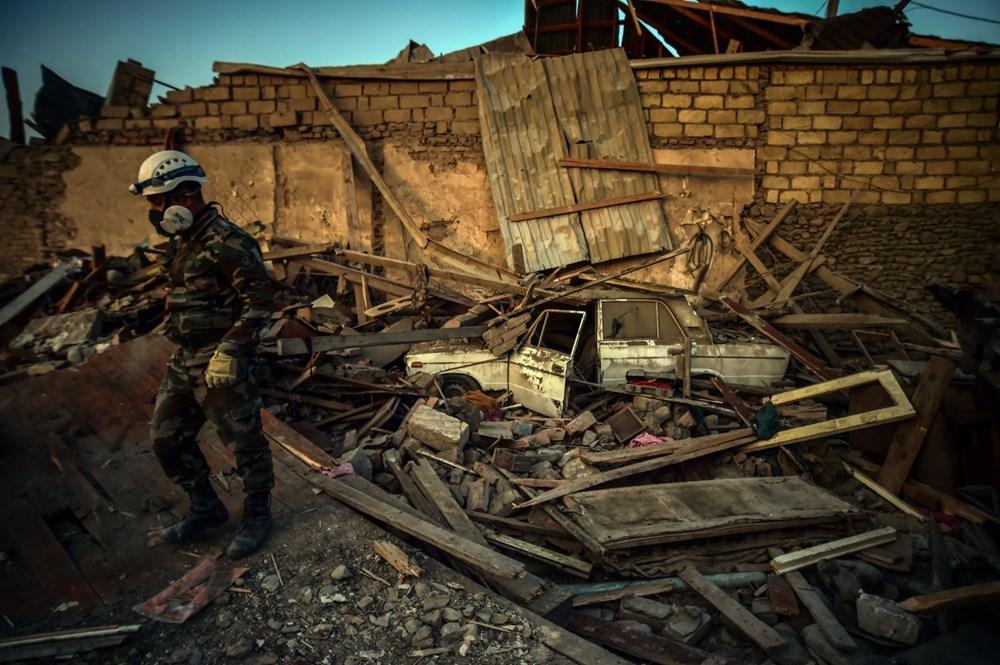 Ermenistan'ın Gence'ye füze saldırısının şiddeti gün ağarınca ortaya çıktı - 18