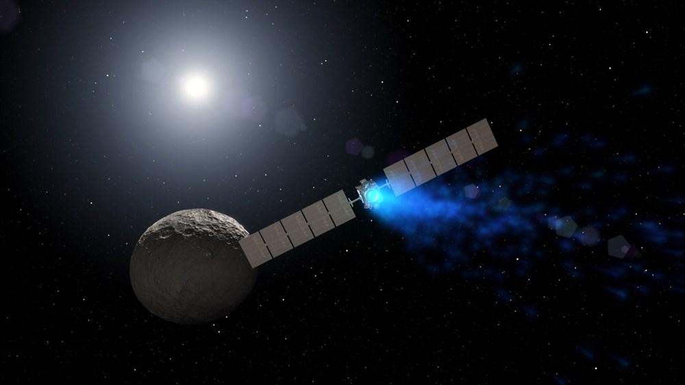 Dünya'ya en yakın cüce gezegen Ceres'te hayat olabilir - 6