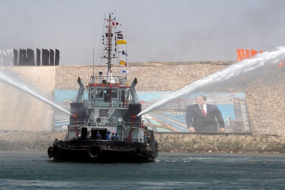 Süveyş Kanalı'nı tıkayan gemi 108 gün sonra serbest - 7