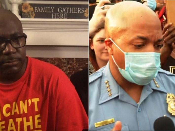 Öldürülen Floyd'un alesinden canlı yayında polis müdürüne soru