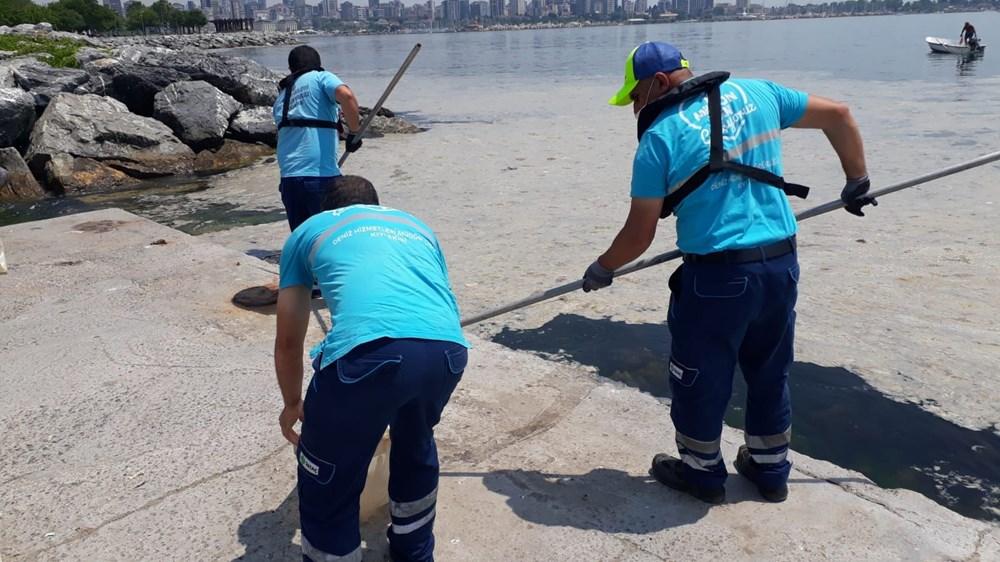 İstanbul'un sahilleri müsilajla doldu: 95 yıldır böyle bir şey görmedim - 4
