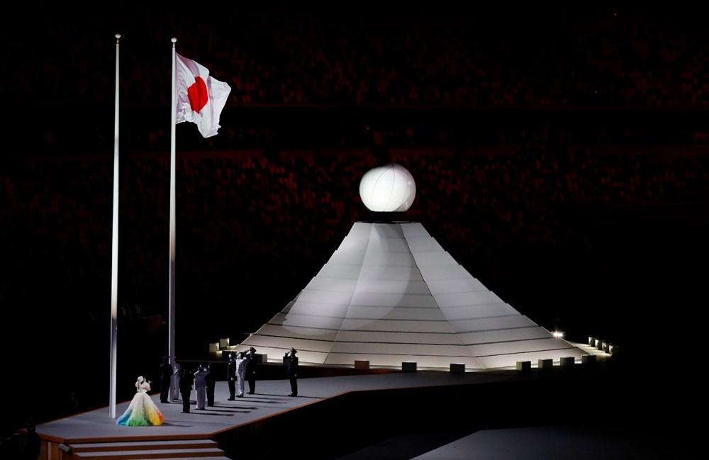 2020 Tokyo Olimpiyatları görkemli açılış töreniyle başladı - 9