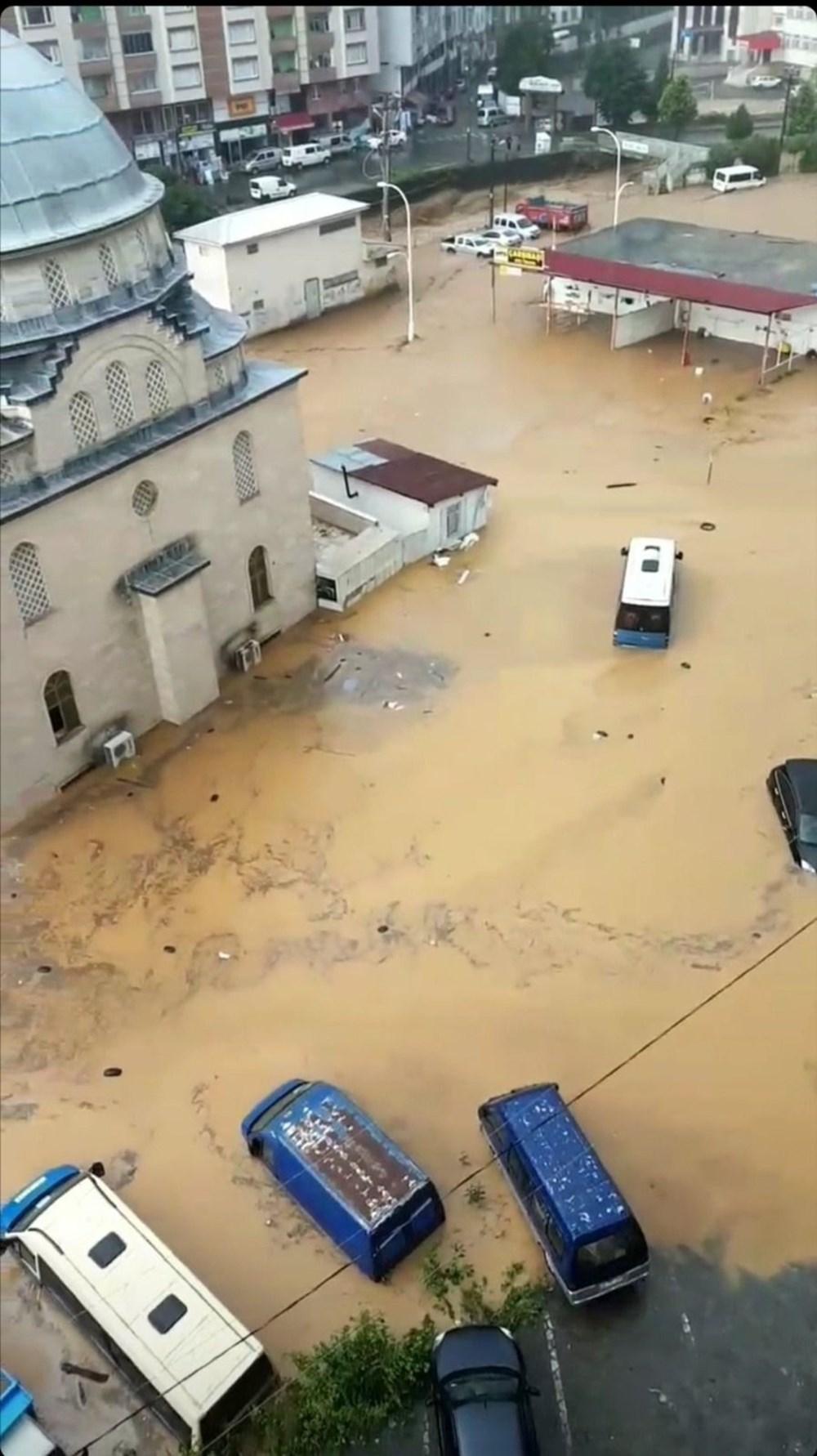 Şiddetli yağış Rize'yi de vurdu: 2 can kaybı - 32