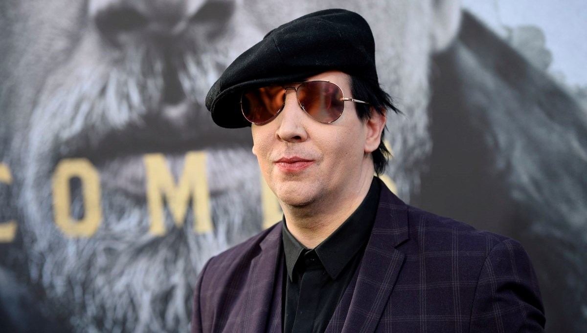 Marilyn Manson'a bir tecavüz davası daha açıldı