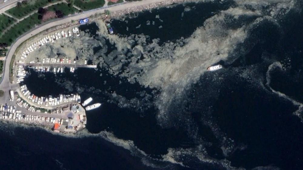 İstanbul'daki müsilaj uzaydan görüntülendi - 2