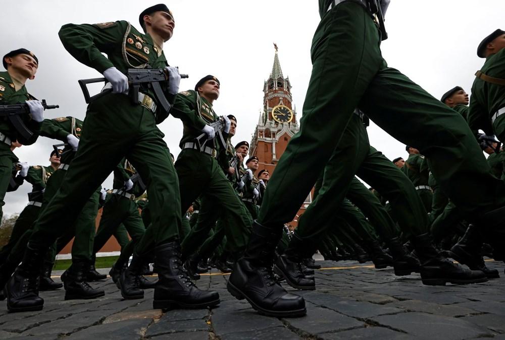 Rusya'da Zafer Günü kutlamaları: Moskova'da askeri geçit töreni - 13