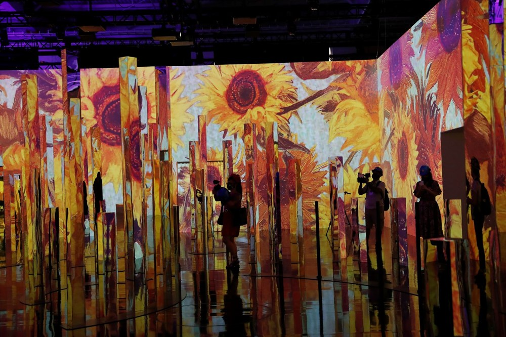 Vincent van Gogh sergisinde teknoloji ve sanat birleşti: Sürükleyici Van Gogh - 2