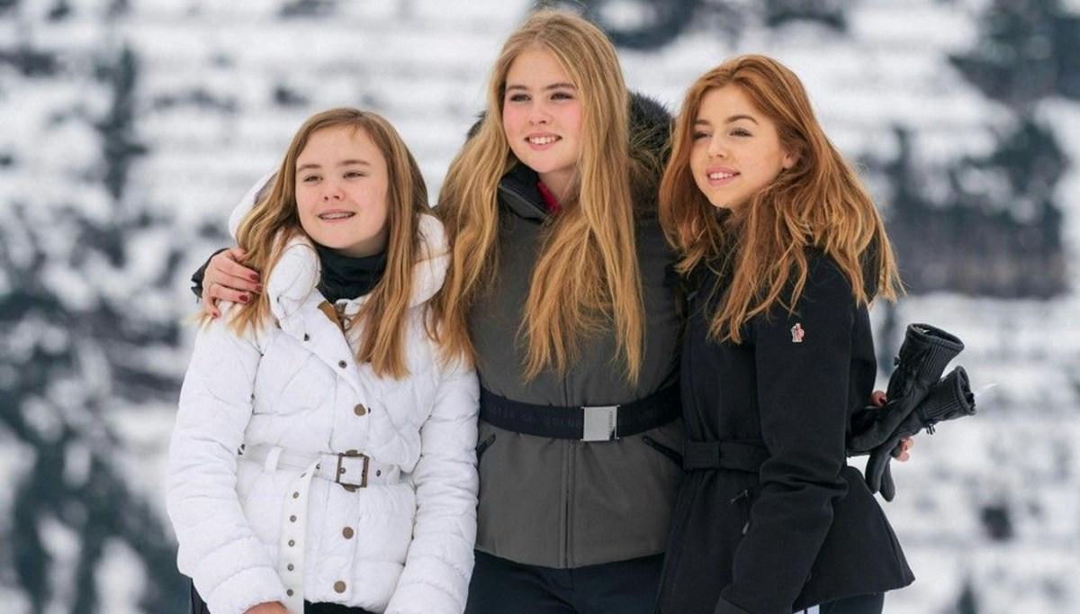 17 yaşındaki Prenses Catharina-Amalia tarih yazdı