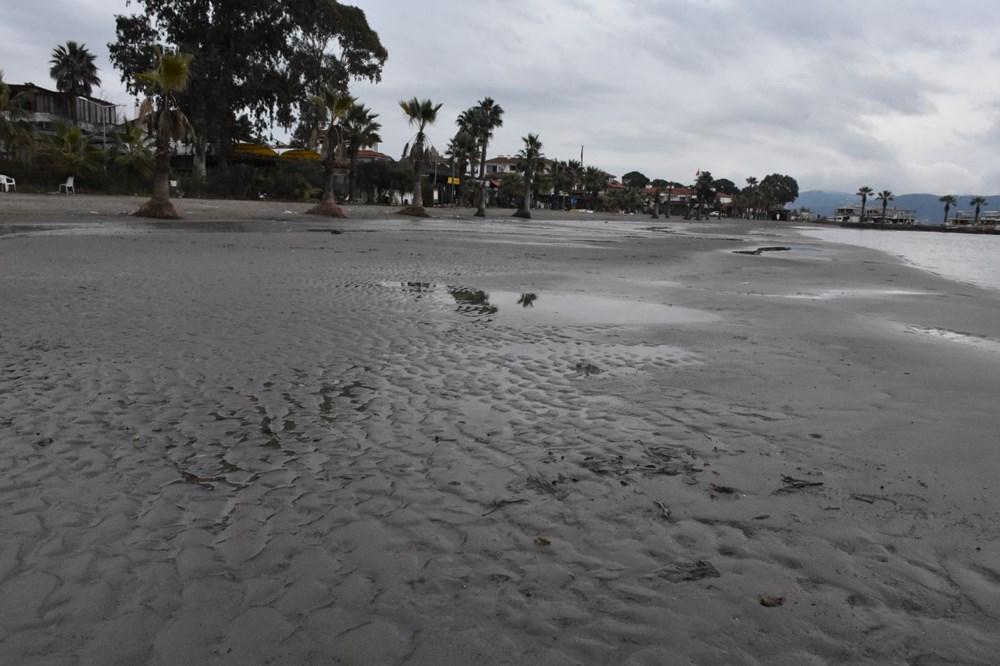 Muğla'da deniz suyu 40 metre çekildi - 10