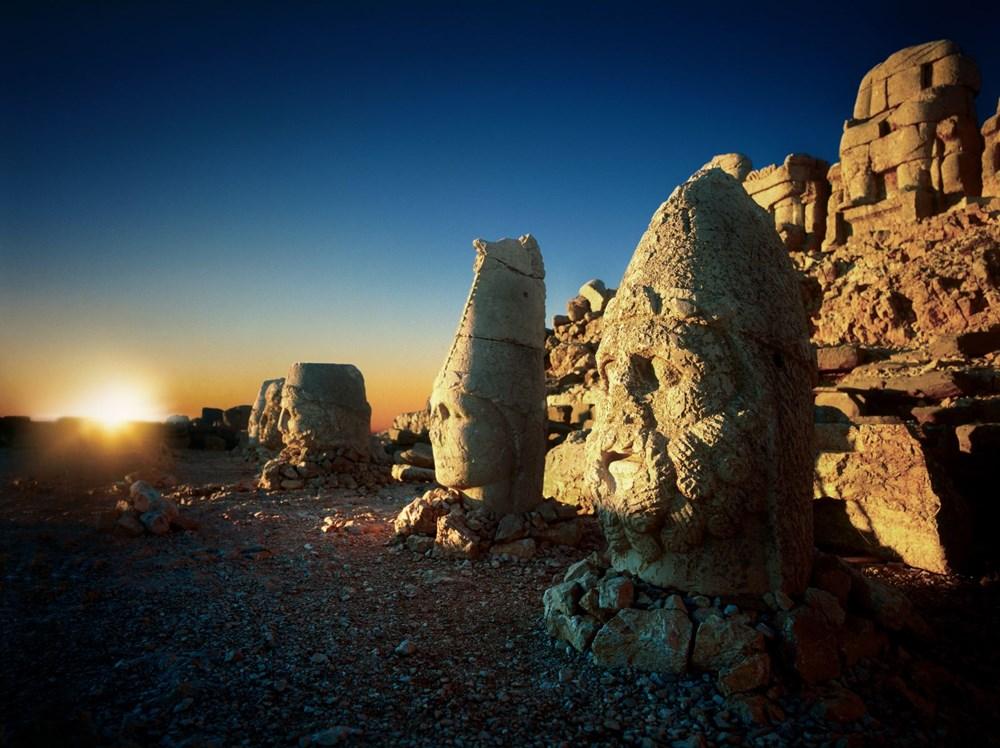 Kralların ve tanrıların taşlaştığı yer Nemrut - 4
