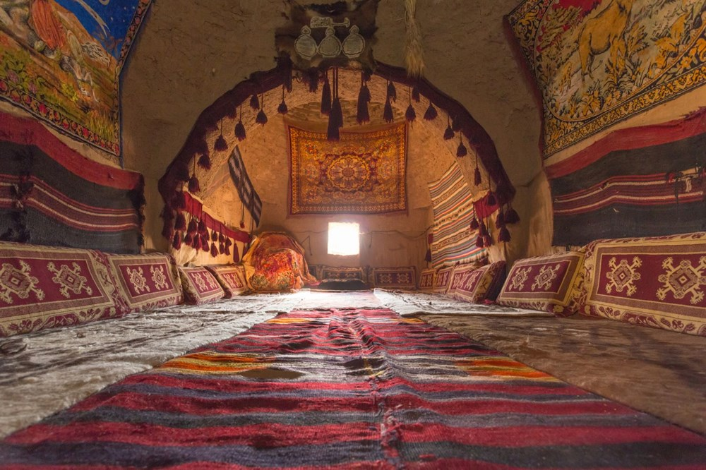 Şanlıurfa'nın tarihi kümbet evleri turist ağırlamaya başladı - 3