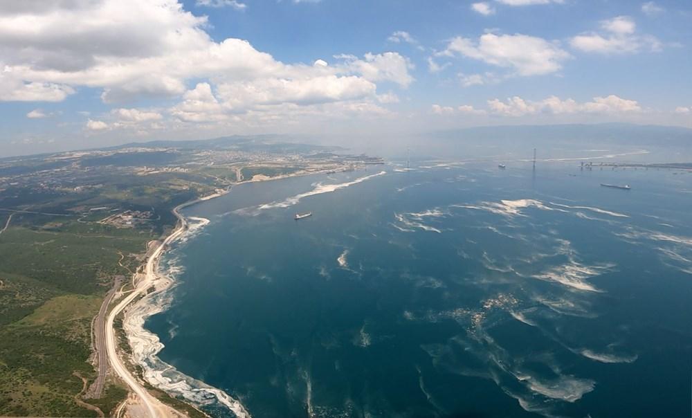 Müsilaj havadan görüntülendi: Deniz salyası her yerde - 13