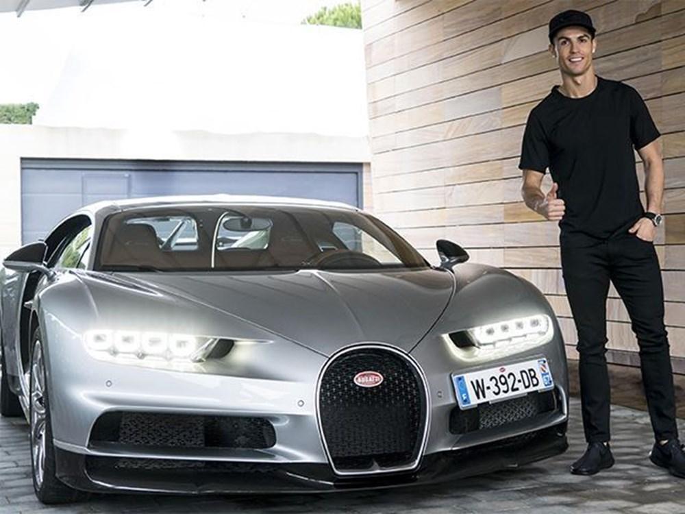 Cristiano Ronaldo dünyanın en pahalı arabasını aldı (Ronaldo'nun otomobil koleksiyonu) - 7