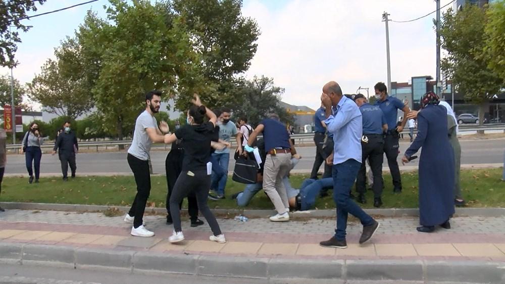 Selama pengintaian, mereka menyerang pengemudi wanita, polisi turun tangan dengan gas air mata - 2