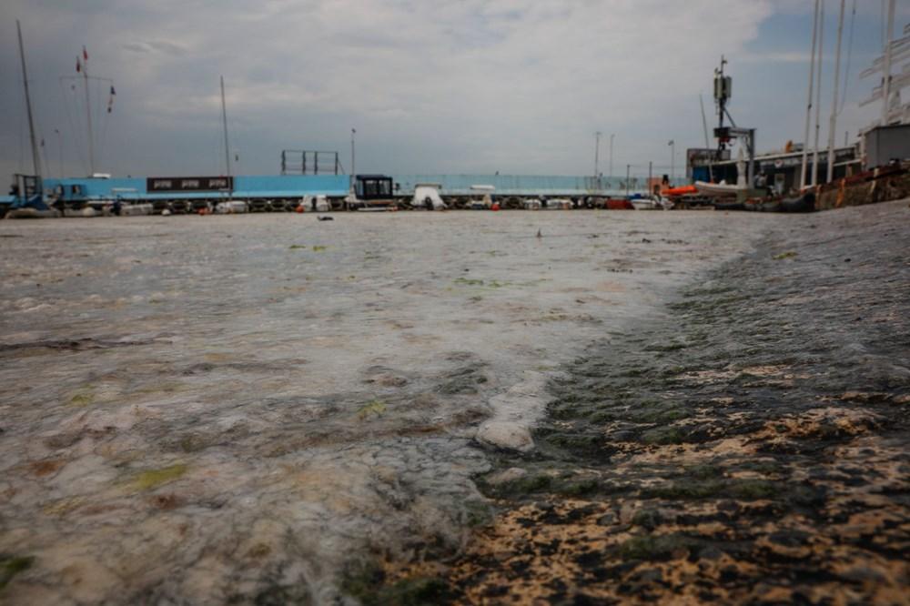 İstanbul'un sahilleri müsilajla doldu: 95 yıldır böyle bir şey görmedim - 18