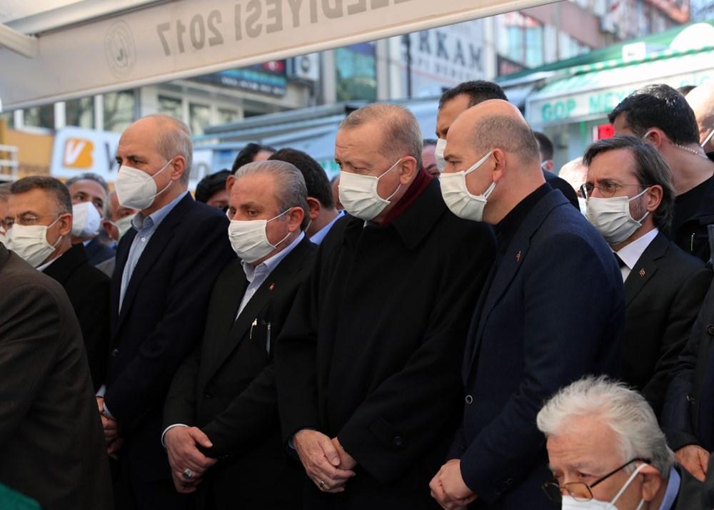Soylu'nun annesi için tören düzenlendi (Cumhurbaşkanı Erdoğan da katıldı) - 10