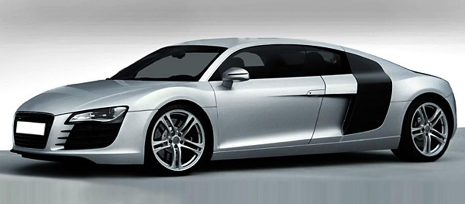 30 cm daha uzun Audi R8