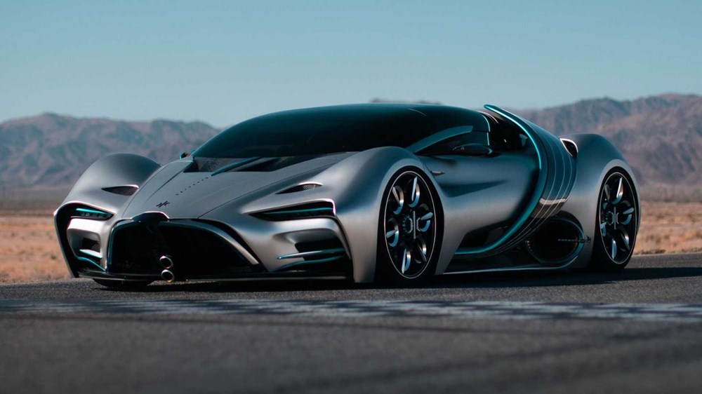 Hidrojen yakıtlı süper otomobil: Hyperion XP-1 - 4