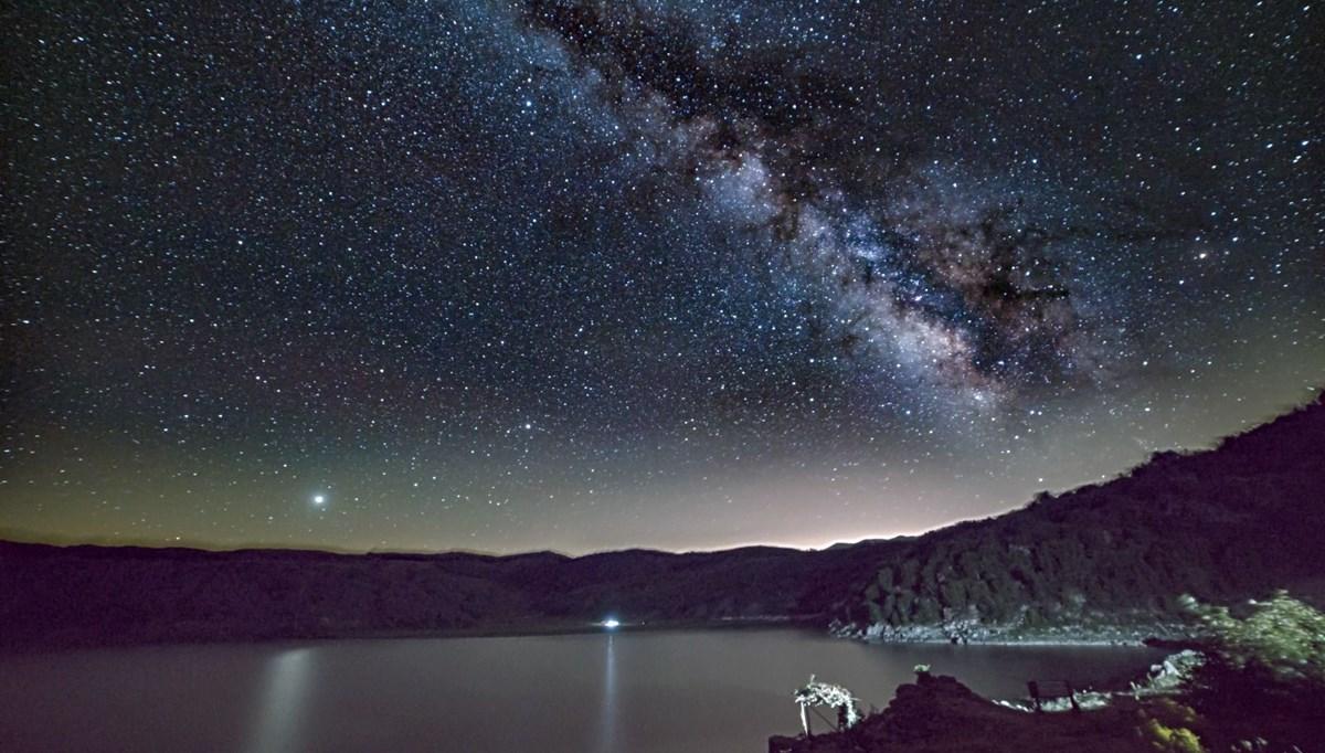 Nemrut Krater Gölü'nde yıldız şöleni