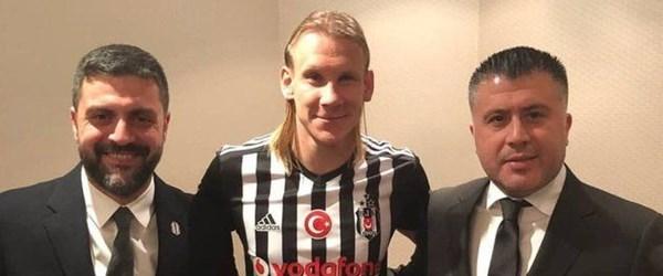 Beşiktaş'ın yeni transferi Vida İstanbul'da