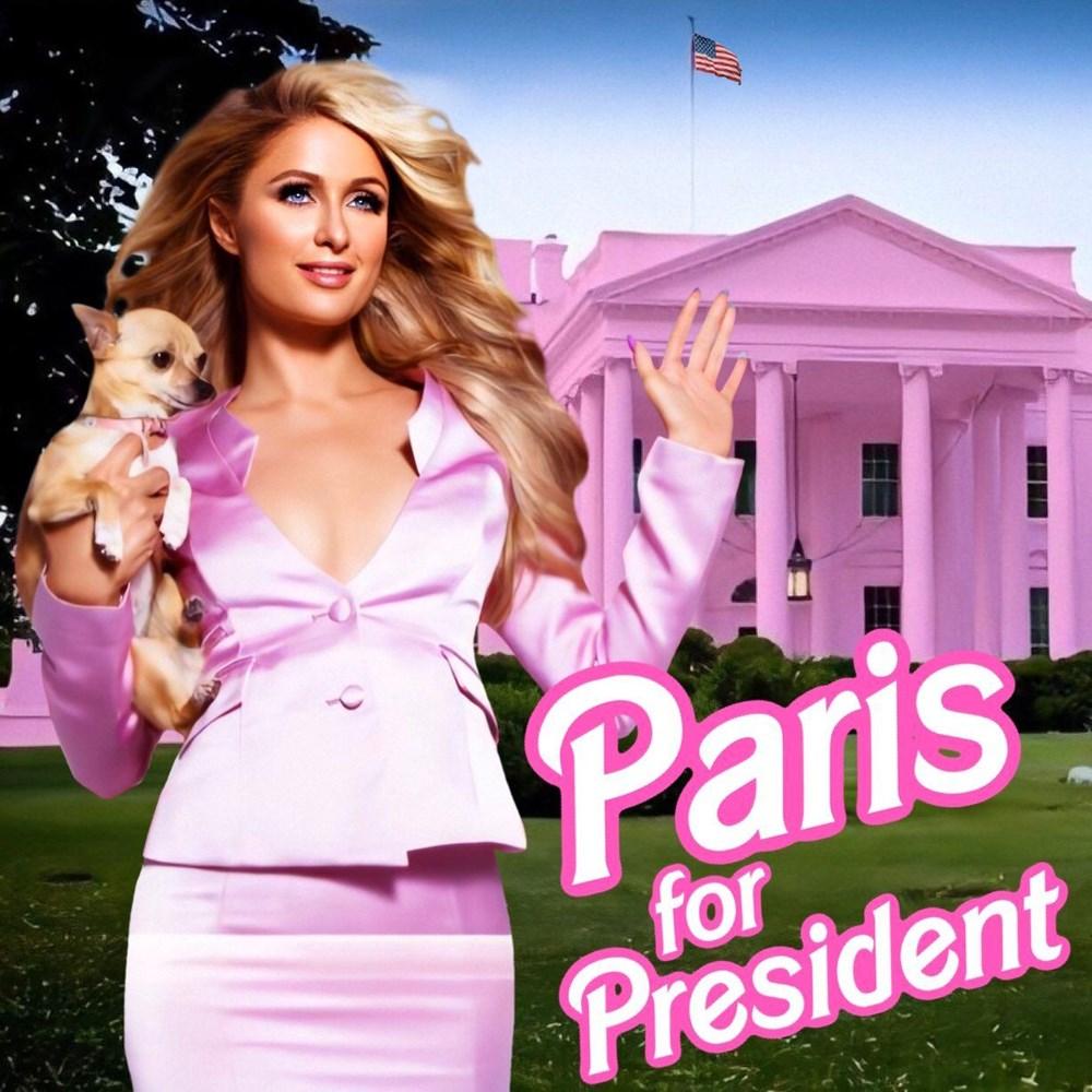 Paris Hilton da ABD Başkanlığı'na aday oldu - 2