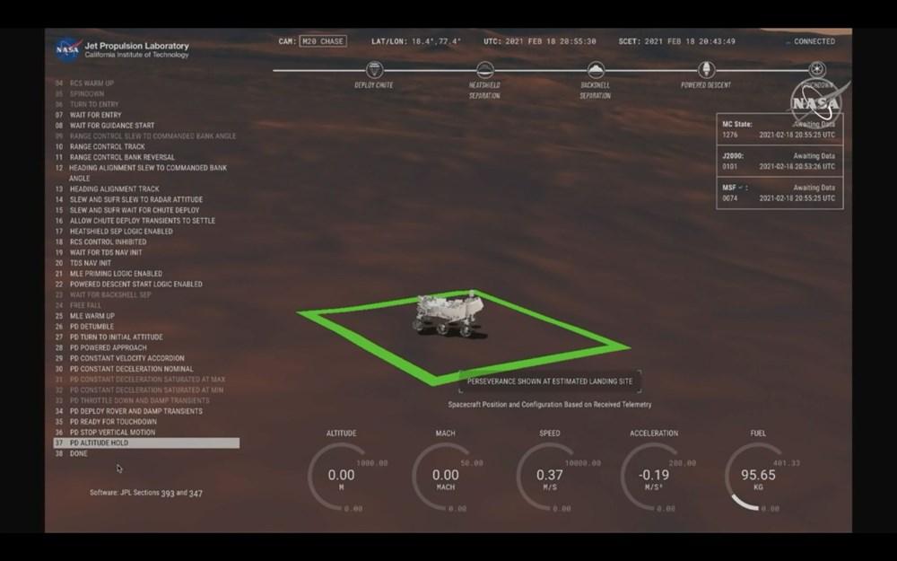NASA, Mars'tan yeni fotoğraflar paylaştı - 5