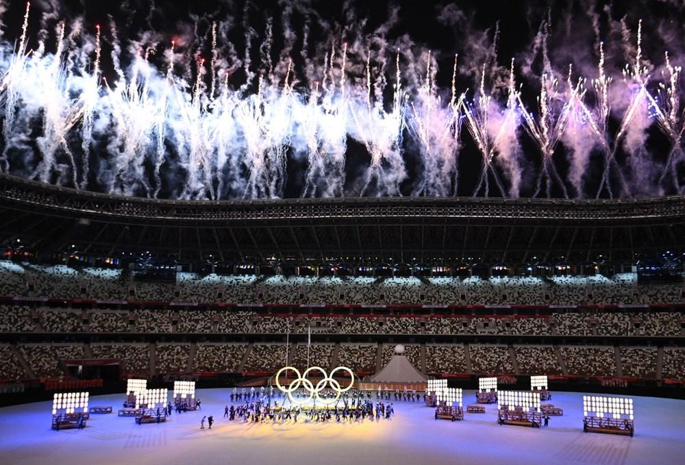 2020 Tokyo Olimpiyatları görkemli açılış töreniyle başladı - 69
