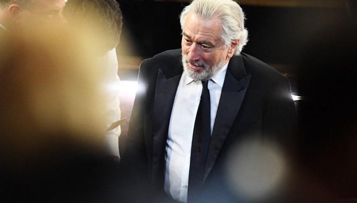 Usta oyuncu Robert De Niro'nun set kazası