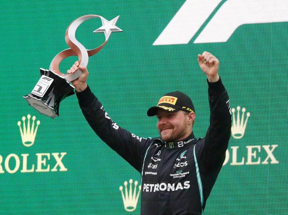 Formula 1 Türkiye Grand Prix'sinde kazanan Valtteri Bottas - 2