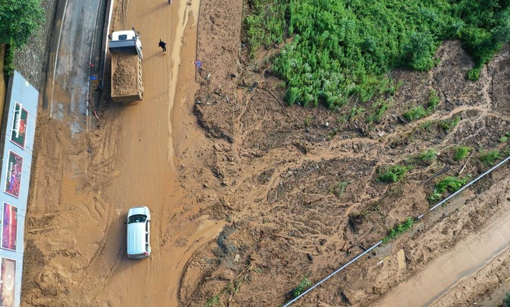 Rize'de sel ve heyelan afetinin hasarı gün ağarınca ortaya çıktı - 30