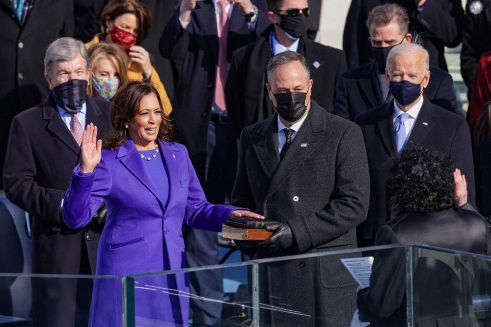 Joe Biden'ın yemin töreninden kareler (ABD'nin 46. Başkan Joe Biden göreve başladı) - 9