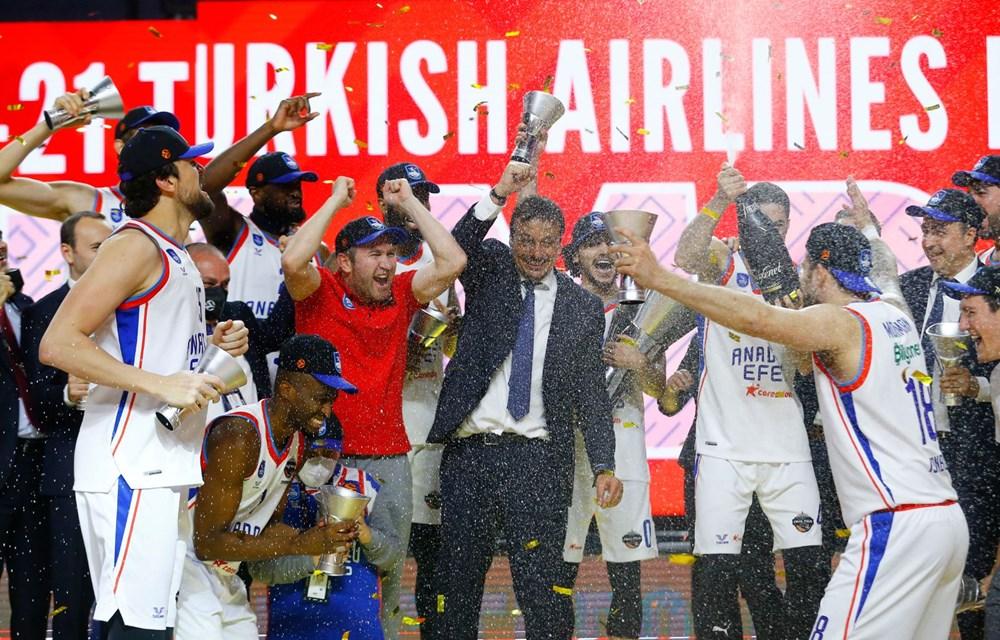 Euroleague'de şampiyon Anadolu Efes (Anadolu Efes-Barcelona maç sonucu) - 11