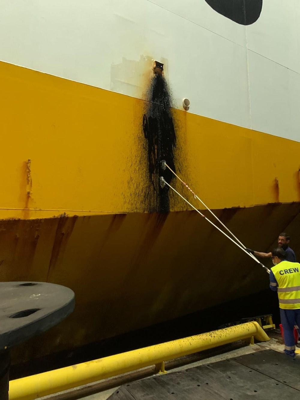 İzmit Körfezi'ni kirleten gemiye 3,4 milyon lira ceza uygulandı - 6