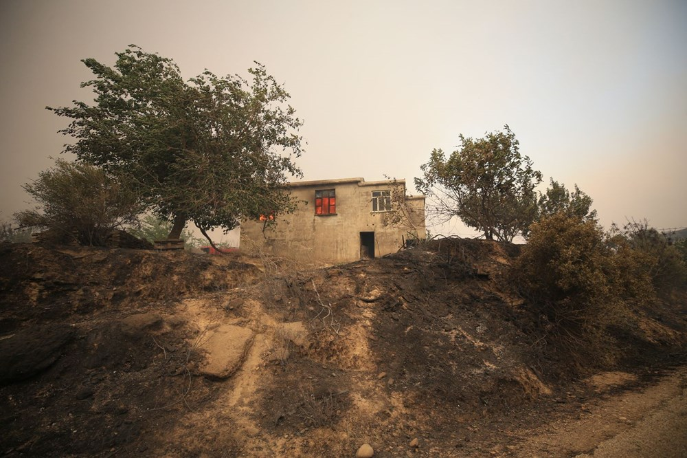 Antalya, Adana, Mersin, Aydın, Muğla, Osmaniye, Kayseri ve Manisa'da orman yangınları - 8