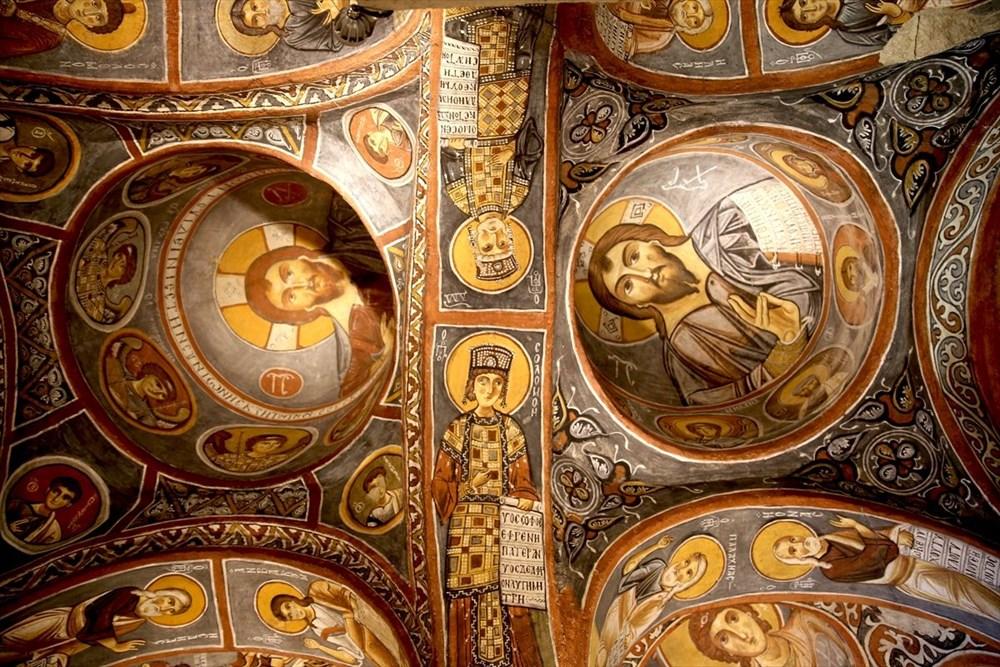 Karanlık Kilise'nin freskleri ile bin yıl öncesine yolculuk - 7