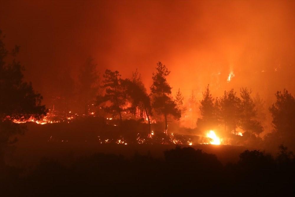Antalya, Adana, Mersin, Aydın, Muğla, Osmaniye, Kayseri ve Manisa'da orman yangınları - 44