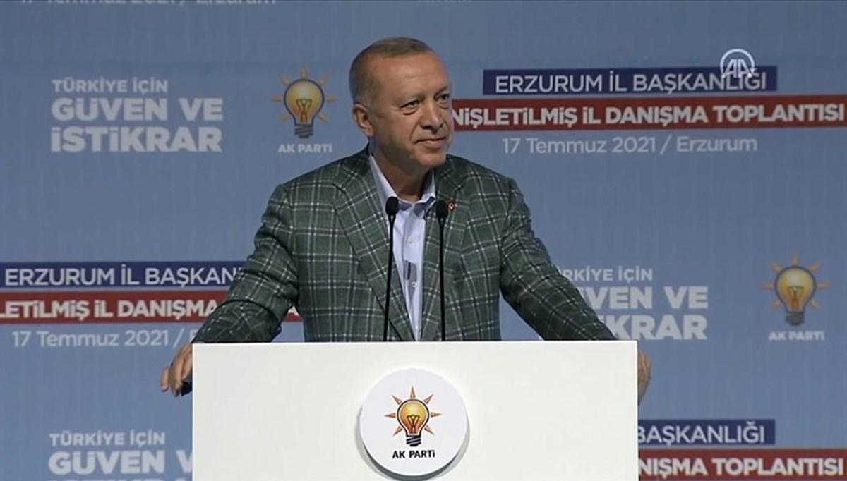 Cumhurbaşkanı Erdoğan: Davamızda karamsarlığa yer yok