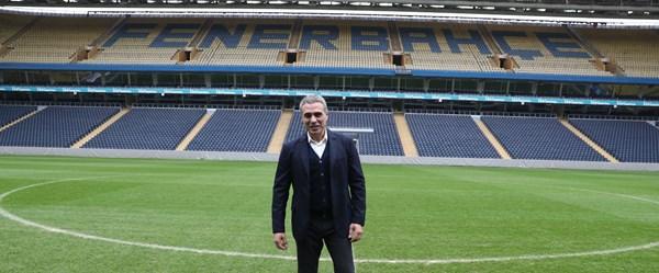 Fenerbahçe'nin yeni teknik direktörü Ersun Yanal, Şükrü Saraçoğlu'nda
