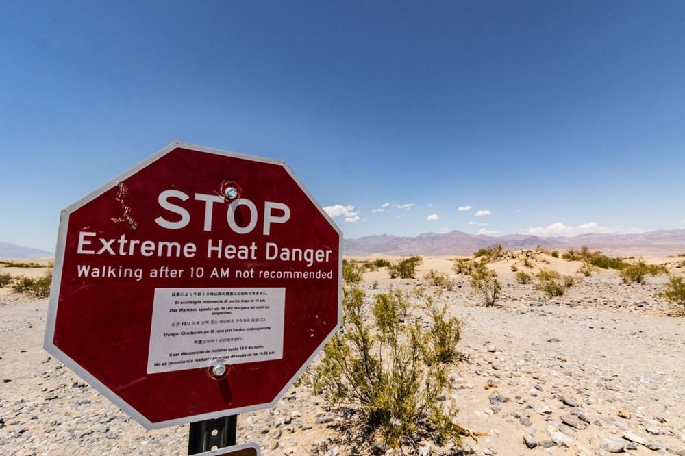 Küresel olarak yüzyılın en yüksek sıcaklığı kaydedildi: 54,4 santigrat derece - 4