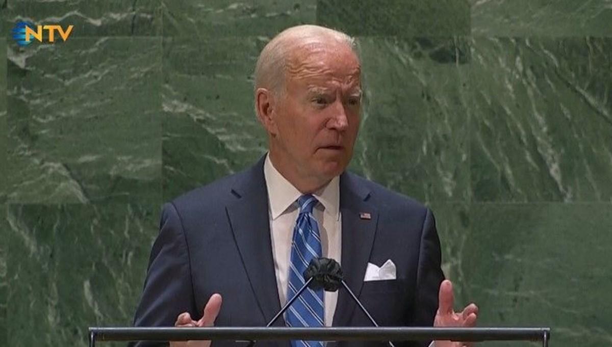 SON DAKİKA: ABD Başkanı Biden BM Genel Kurulu'nda konuşuyor