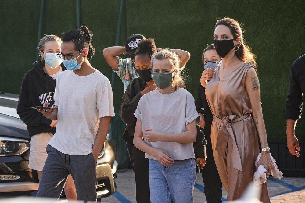 Angelina Jolie, Brad Pitt ile ortak velayet kararını temyize taşıdı - 6