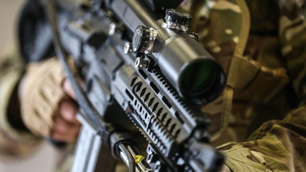 Dijital birliğin robot askeri Barkan göreve hazırlanıyor (Türkiye'nin yeni nesil yerli silahları) - 115