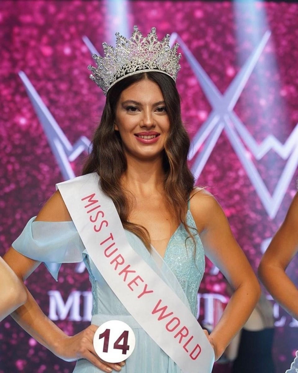 23 yaşındaki Dilara Korkmaz,Türkiye'yi Miss World'de temsil edecek.