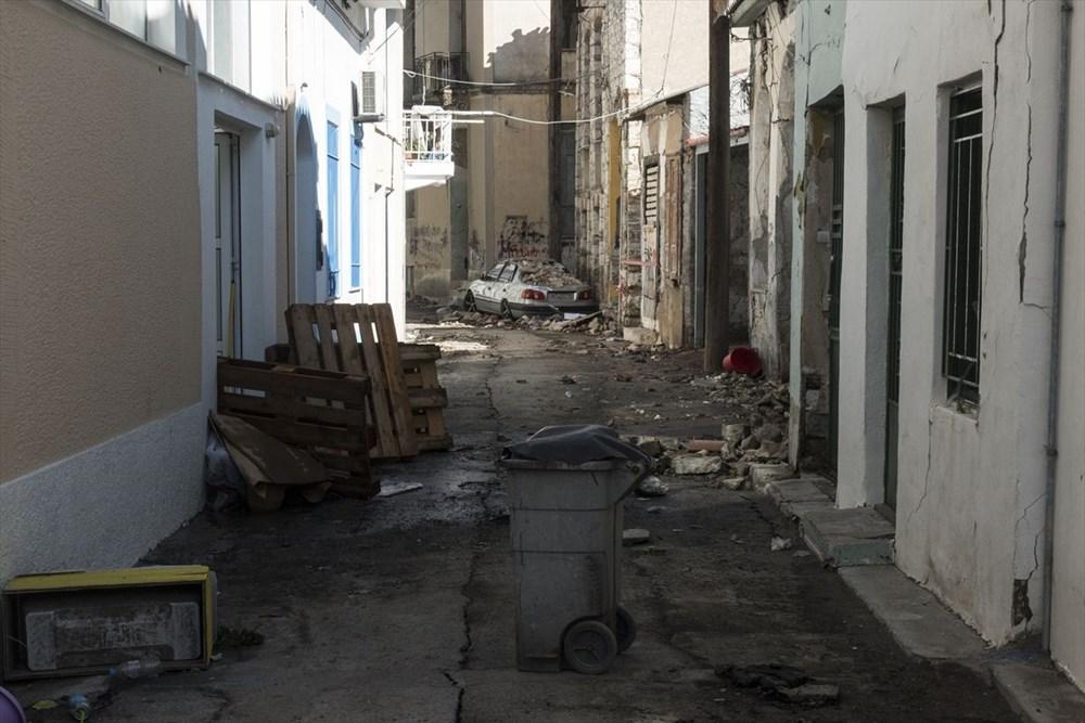 Depremin vurduğu Yunan adası Sisam'da son durum - 36