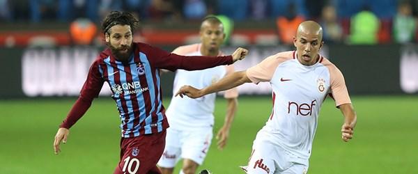 Trabzonspor-Galatasaray karşılaşması