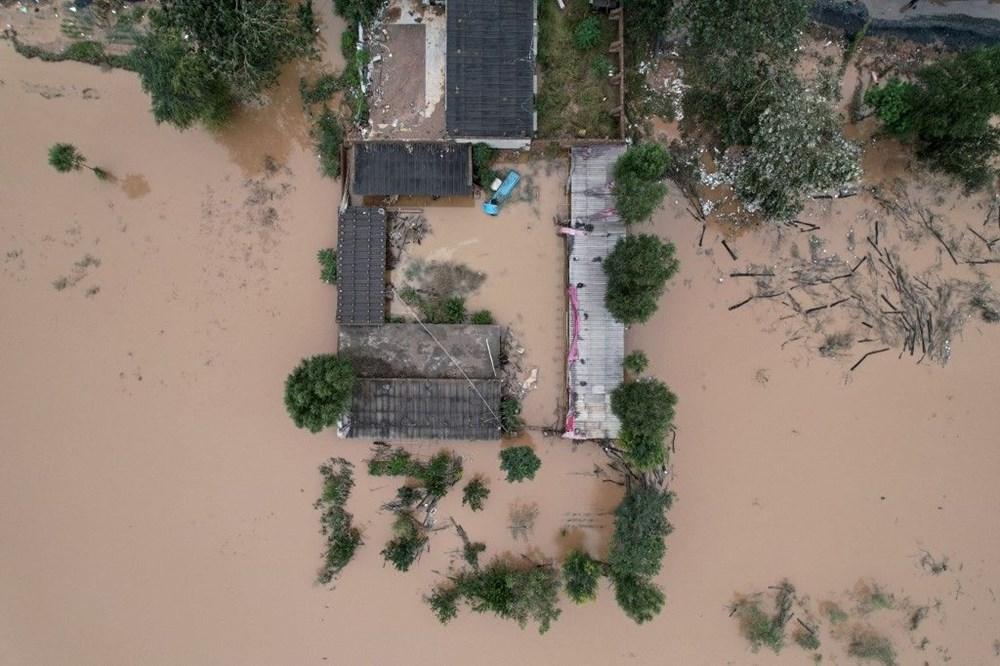 Çin'de sel felaketi: 15 can kaybı - 7