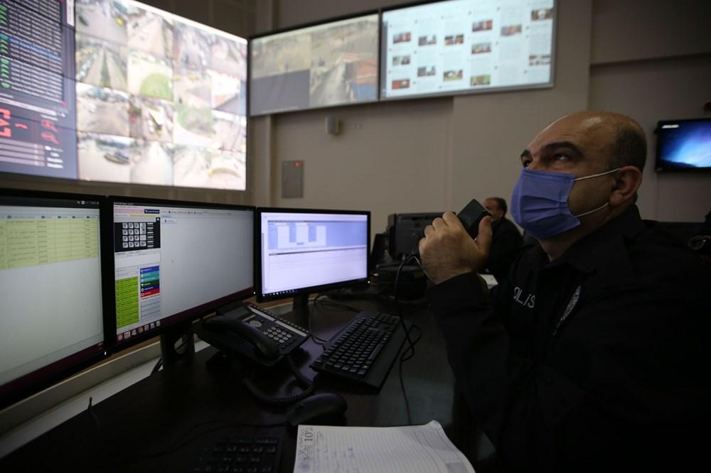Bursa'da maske takmayanlar kameradan tespit edilip uyarılıyor - 3