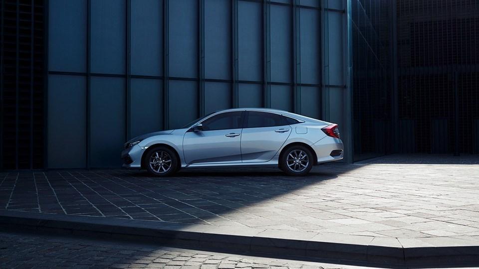 Fabrikada üretilen üretilen Honda'nın Civic modeli