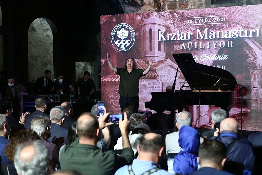 Trabzon'da restorasyonu tamamlanan Kızlar Manastırı ziyarete açıldı - 11